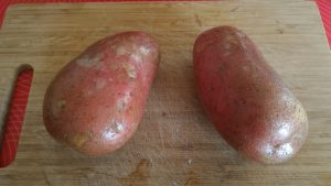 patate lavate